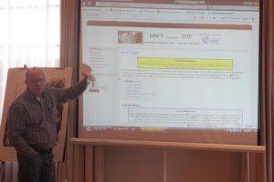 Helmut Oberdiek in Heybeliada International Gathering on 20th Year of HRFT
