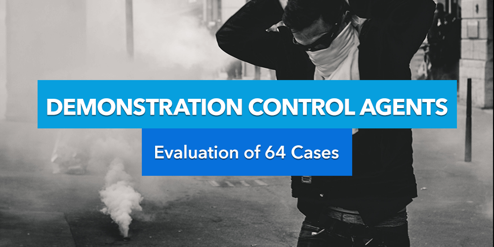 Demonstration Control Agents: Evaluation of 64 Cases