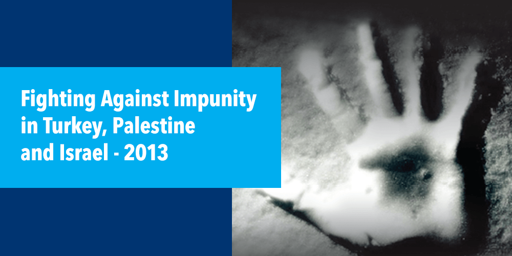 Fight Against Impunity in Turkey, Palestine and Israel (2013)
