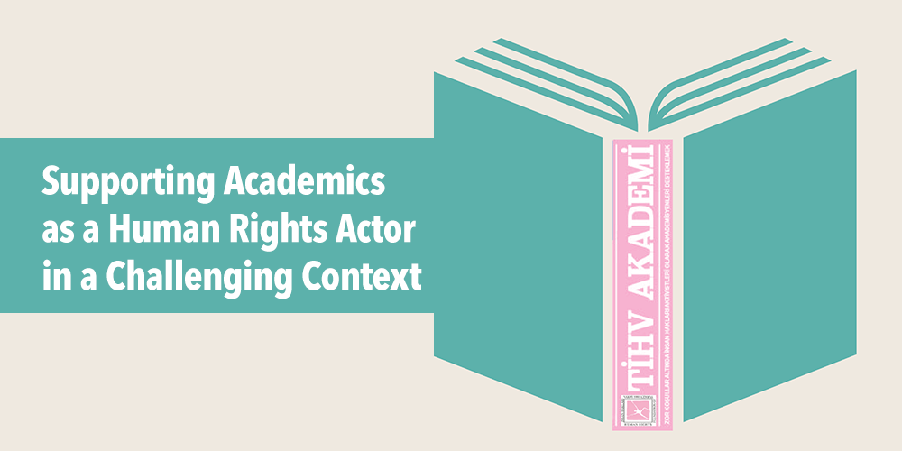 Supporting academics as a human rights actor in a challenging context